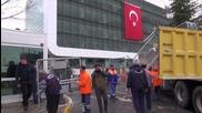 """Турция: Полицията вдигна барикада пред редакцията на в. """"Заман"""""""