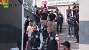 Военни бяха предадени на съда в Истанбул след опита за преврат