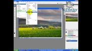 Photoshop Cs3 - Бърза смяна на пейзаж