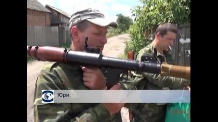 Сраженията край Славянск в Украйна продължават, има още жертви