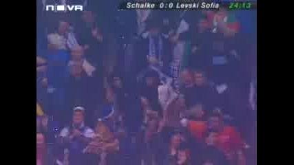 Schalke 04 - Левски 0:1 Е. Ангелов