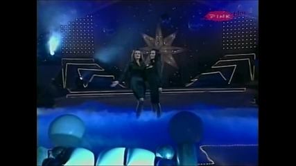 Ceca i Mira Skoric - Ne idi od mene zlato moje - Novogodisnji show - (TV Pink 2007)