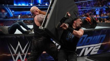 Erick Rowan & Luke Harper ne attack kiya Roman Reigns & Daniel Bryan ko: SmackDown LIVE, September 18, 2019