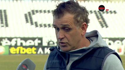 Бруно Акрапович доволен от победата над Царско село