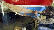 Част 11 -поправка на дървена лодка