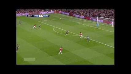 Манчестър Юнайтед 3 : 0 Олимпиакос
