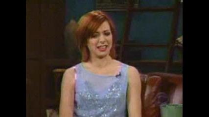 Alyson Hannigan - Jul 1999