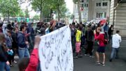 France: Tensions high as refugees protest for asylum in Paris