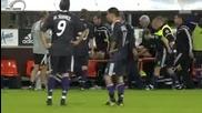 Поредното смачкване на крак във Футбола!!!