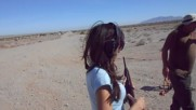 Hot Girl Amy Shoots A Gun For The First Time