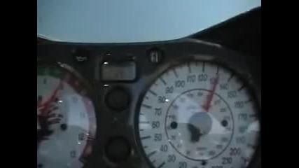 Suzuki Hayabusa with Turbo Vmax 220 kmh