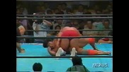 Steve Williams vs. Kenta Kobashi - All Japan Pro Wrestling 31.08.1993 - Част 1