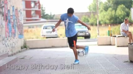 Честит рожден ден Стеф!