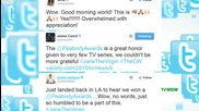 Jane The Virgin Cast Reacts To Peabody