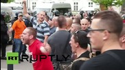 Czech Republic: Far-right protesters rally against EU migrant redistribution plan