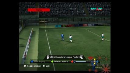 Як гол на Pro Evolution soccer 2010