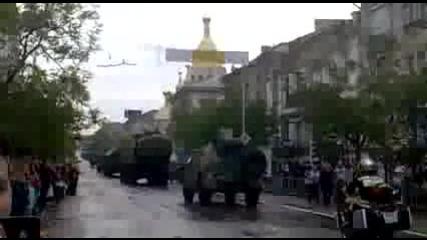 Парад на победата 9 май 2014, Севастопол, Техника