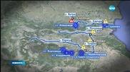 Обстановката в Източна България се нормализира