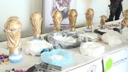 Argentina: 200kg of coke, weed and weapons smuggled in 'World Cups'