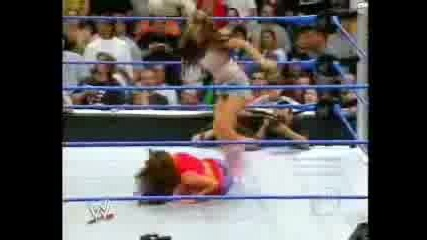 Candice Getting Stripped By Melina