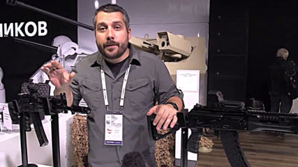Russia: Kalashikov unveils civilian version of AK-12 rifle at Moscow expo