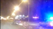 Наркодилър бяга на полицията с простреляна гума, хвърчат искри