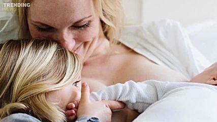 Гняв в социалните мрежи: Майка кърми 4,5 години