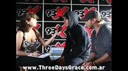 Three Days Grace Interview [audio] Adam Gontier & Brad Walst