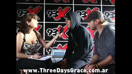 Three Days Grace Interview [audio] Adam Gontier & Brad Walst
