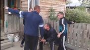 Най-смешния пиян бой в Русия !