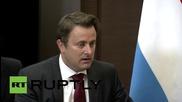"Russia: Luxembourg & Russia have ""common"" anti-terror goals - PM Bettel tells Putin"