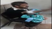 Syria: Father cradles dead daughter following shelling on western Aleppo *GRAPHIC*