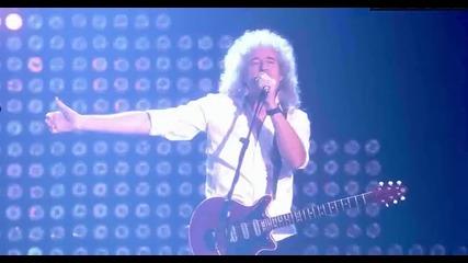 ( Live ) Превод Adam Lambert и Queen взривиха сцената на Европейските Музикални Награди на Mtv