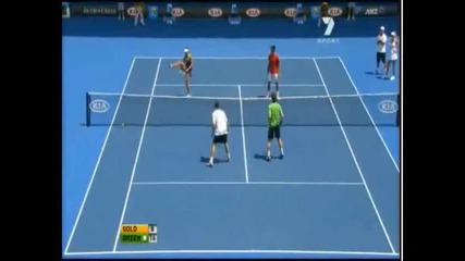 Ето така се играе Тенис - :) Демонстративен мач Ao 2011