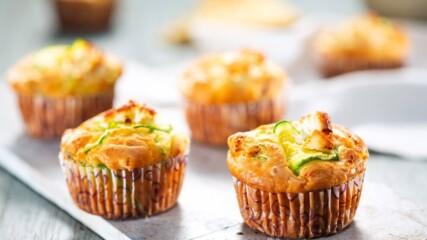 Бон Апети | Солени мъфини с колбас
