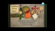 Мароканска салата, козуначени брускети, гъбени кюфтета Бон Апети (07.05.2013)