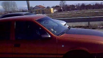 Opel Vektra C20let 4x4 vs. Subaru Impreza 4x4