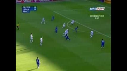 Япония - Гърция 1:0 Накамура Гол