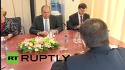"Russia: Lavrov and Dodik discuss ""surge of terrorist activity"" in the Balkans"