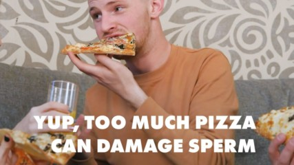 Eating too much junk food can make sperm count THIS low