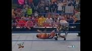 W W F Smackdown 09.27.2001 Кърт Енгъл и Скалата с/у Дъдлитата