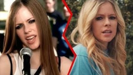 Еволюцията на Avril Lavigne