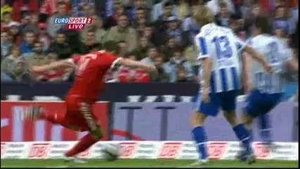 Match - 2010.05.08 (14h30) - Hertha 0 - 1 Bayern Munich - League - Alemanha