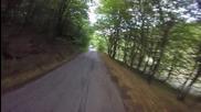 Спускане от Врачанския балкан с колело...