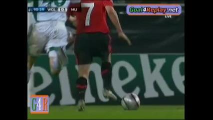 08.12 Волсбург - Манчестър Юнайтед - 1:3 - Оуен Гол