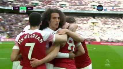 Рамзи поведе Арсенал срещу Тотнъм