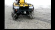 Drifting Atv Cfmoto Cf500 - A 500cc