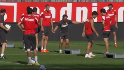 Атлетико Мадрид се готви за следващото си предизвикателство