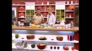 Лео и Диана Алексиева готвят талятели с песто и гъби