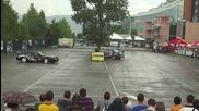 Ива Русинова и Стефан Петров - дрифт на паркинга на Интер Експо Център
